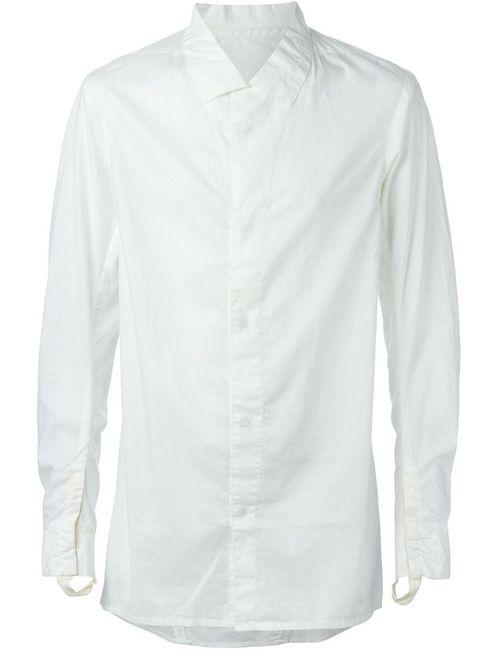 11 BY BORIS BIDJAN SABERI | Мужское Белый Concealed Fastening Shirt