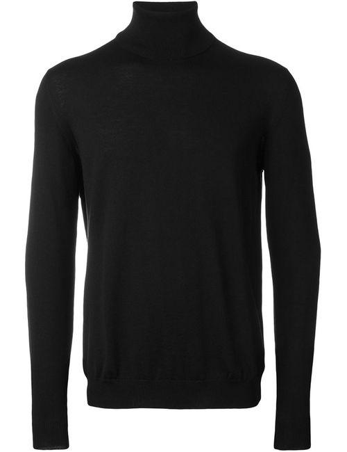 Zanone   Мужское Черный Turtle Neck Sweater