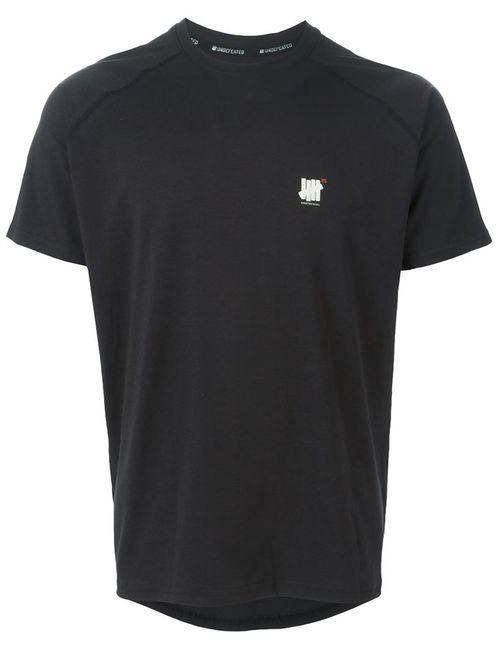 Undefeated   Мужское Черный Round Neck T-Shirt