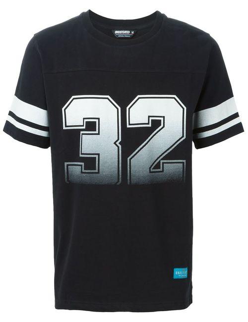 Undefeated   Мужское Чёрный 32 Print T-Shirt