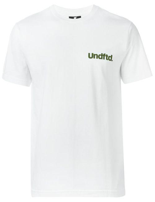 Undefeated   Мужское Белый Logo Print T-Shirt