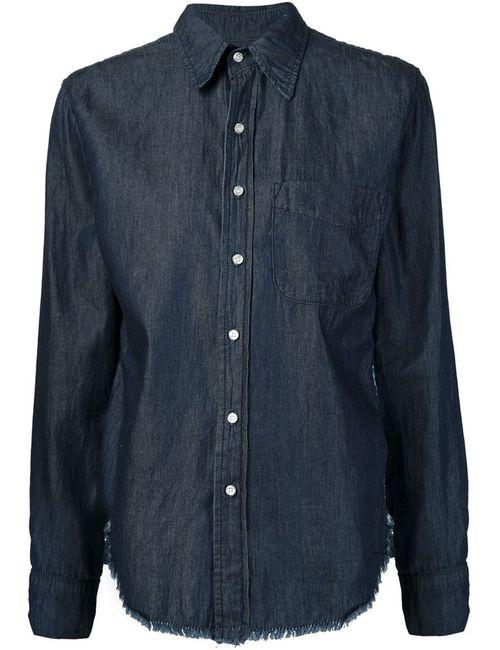 Nsf | Женская Синяя Джинсовая Рубашка Axel