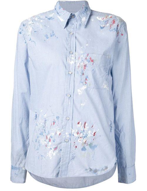 Nsf | Женская Синяя Рубашка Axel