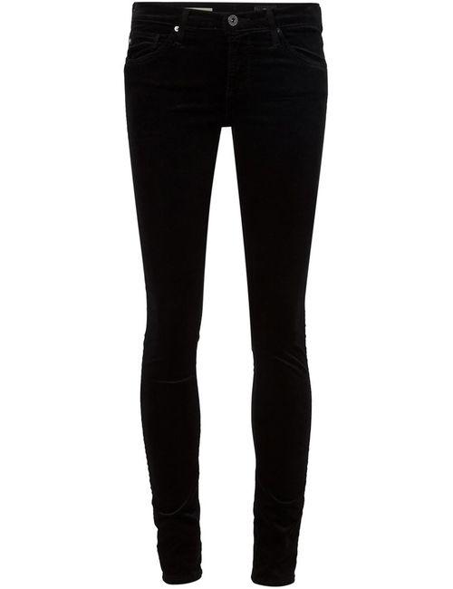 AG JEANS | Женское Синий Skinny Velvet Trousers