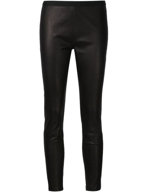 THE PERFEXT | Женское Чёрный Cropped Skinny Trousers
