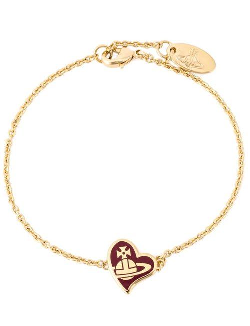 Vivienne Westwood | Женское Серебристый Enamel Heart Charm Bracelet