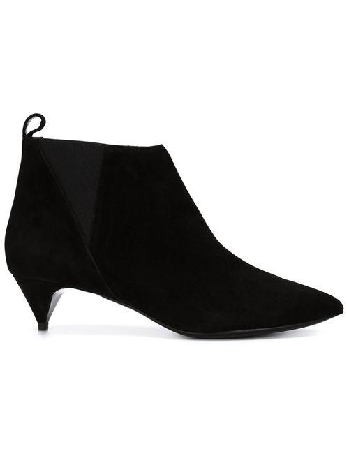Pierre Hardy | Женские Чёрные Ботинки По Щиколотку