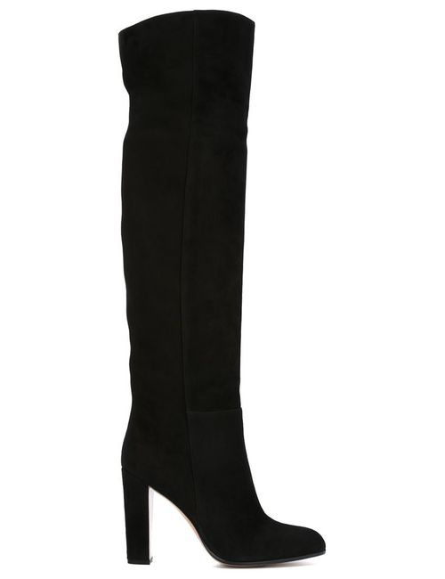 Gianvito Rossi | Женское Черный Elke Knee High Boots