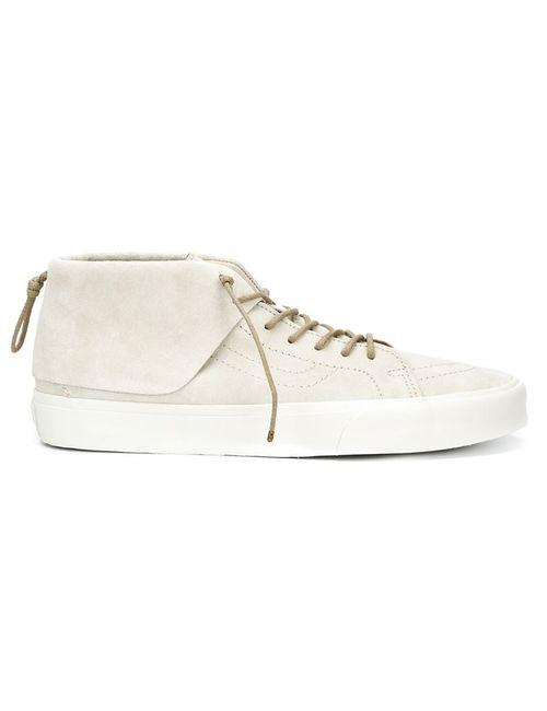 Vans | Мужское Белый Hi-Top Sneakers