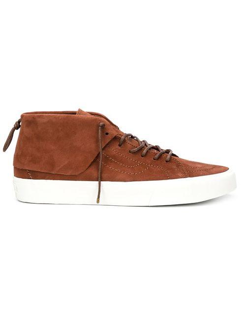 Vans | Мужское Коричневый Hi-Top Sneakers