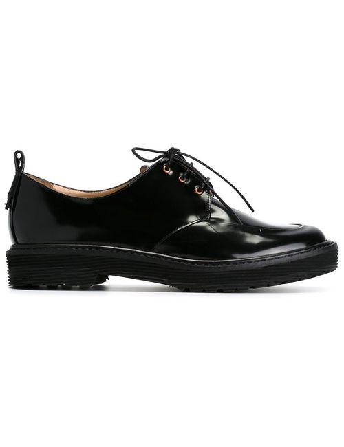AALTO | Женские Чёрные Классические Ботинки Дерби