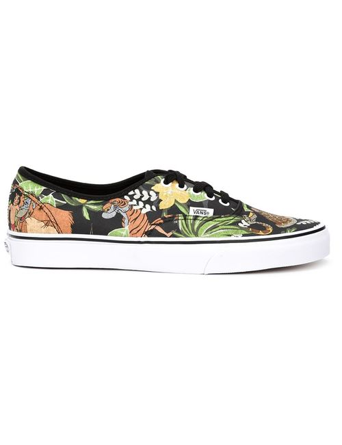 Vans | Мужское Чёрный Jungle Print Sneakers