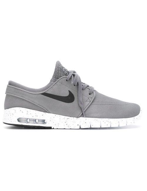 Nike | Мужские Серые Кроссовки Stefan Janoski Max