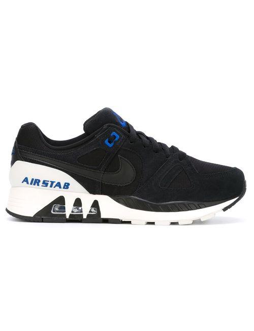 Nike | Мужские Чёрные Кроссовки Air Stab