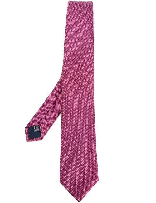 Lanvin | Мужской Розовый Фактурный Галстук