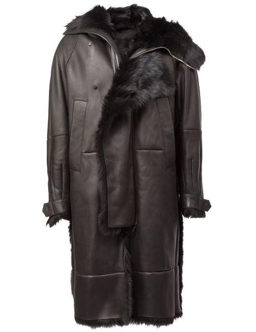 JUUN.J | Мужское Чёрный Hooded Coat