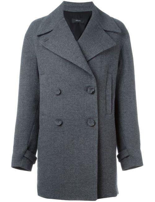 Joseph | Женское Серое Двубортное Пальто