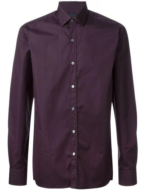 Lanvin | Мужская Красная Классическая Рубашка