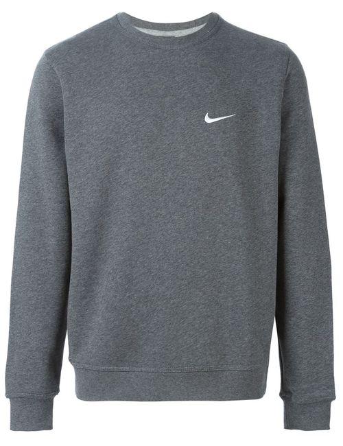 Nike | Мужская Серая Толстовка Club Crew