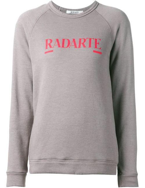 Rodarte | Женская Серая Толстовка Radarte