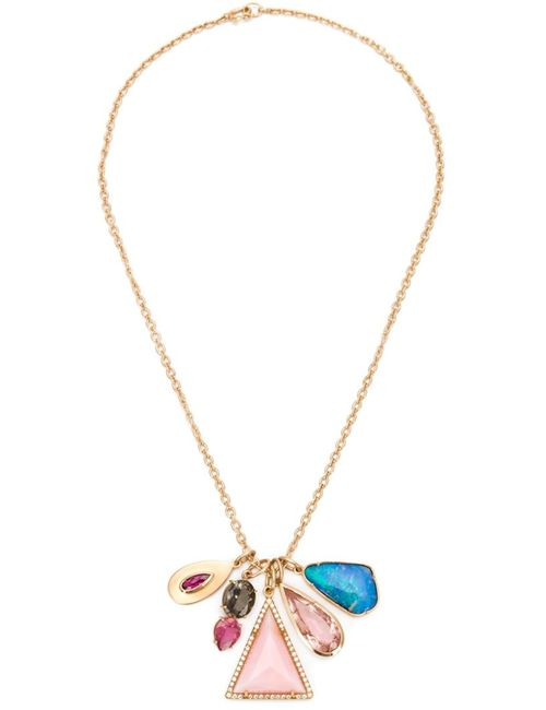 IRENE NEUWIRTH | Женское Серебристый 18kt And Mixed Gemstone Necklace