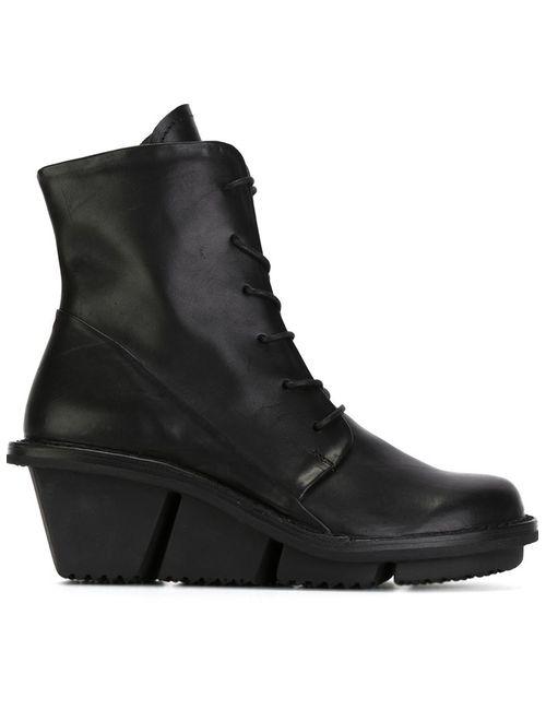 Trippen | Женские Чёрные Ботинки Viaggio