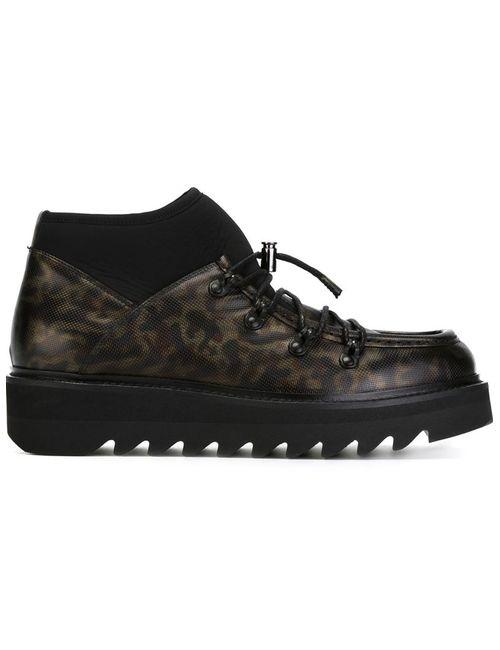 Alberto Guardiani | Мужское Чёрный Lace-Up Boots