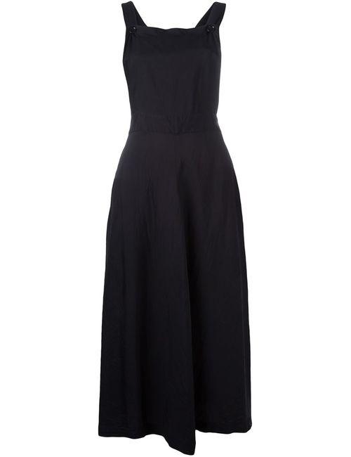 Comme Des Garcons | Женское Чёрное Платье-Комбинезон