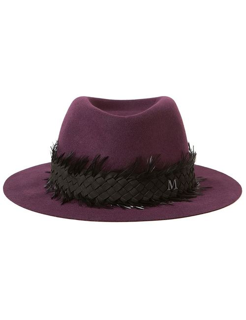 Maison Michel | Женская Розовая Фетровая Шляпа Andre