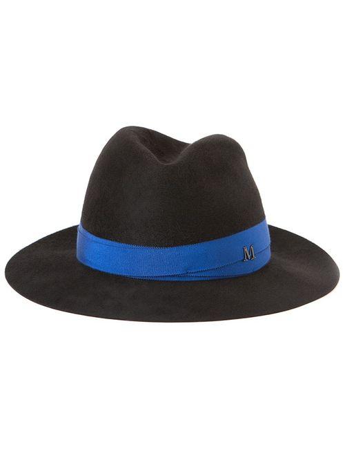 Maison Michel | Женская Чёрная Фетровая Шляпа Bettina
