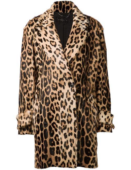 Barbara Bui | Женское Nude & Neutrals Leopard Print Coat