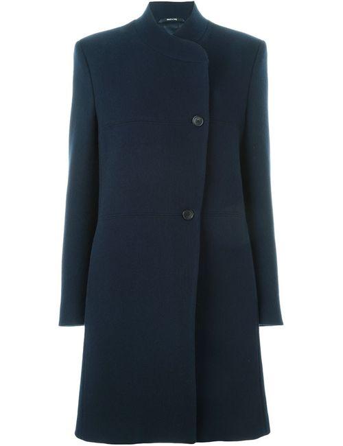 Maison Margiela | Женское Синее Классическое Пальто