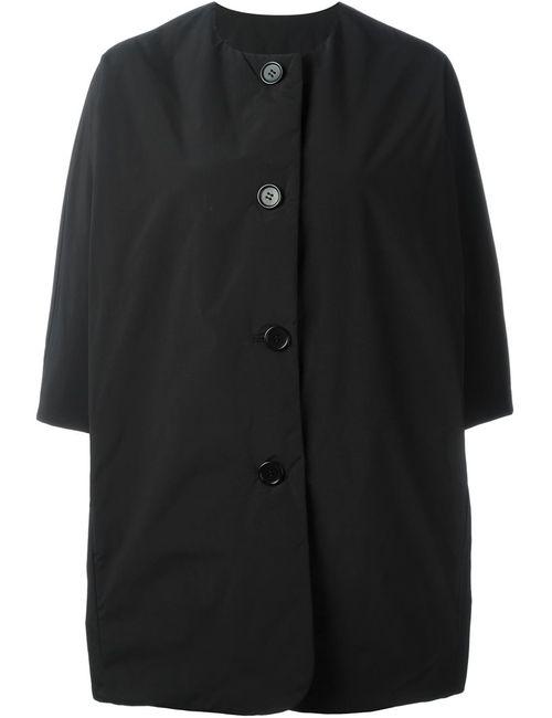 Aspesi | Женское Черный Укороченное Стеганое Пальто