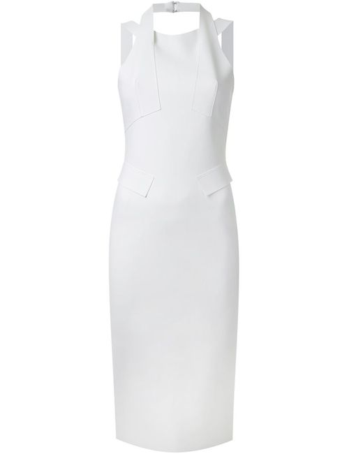 SCANLAN THEODORE | Женское Белое Приталенное Платье