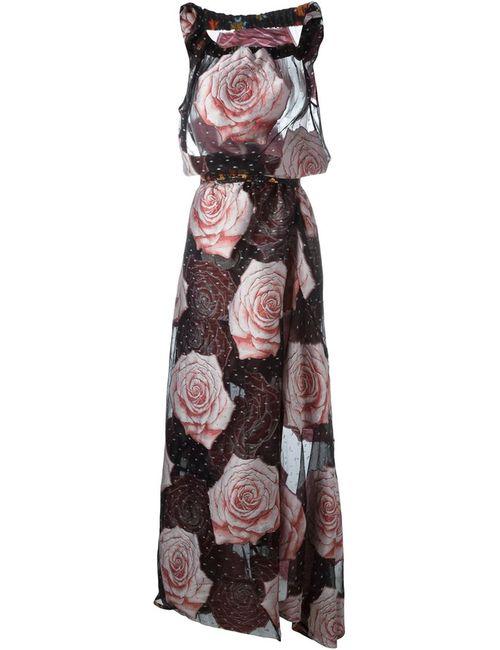 Vivienne Westwood Gold Label | Женское Многоцветное Вечернее Платье С Розами