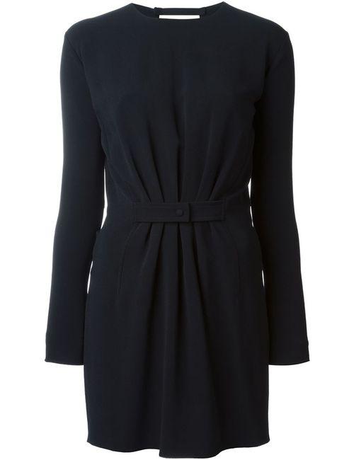 Tom Ford | Женское Чёрное Приталенное Платье С V-Образным Вырезом На Спине