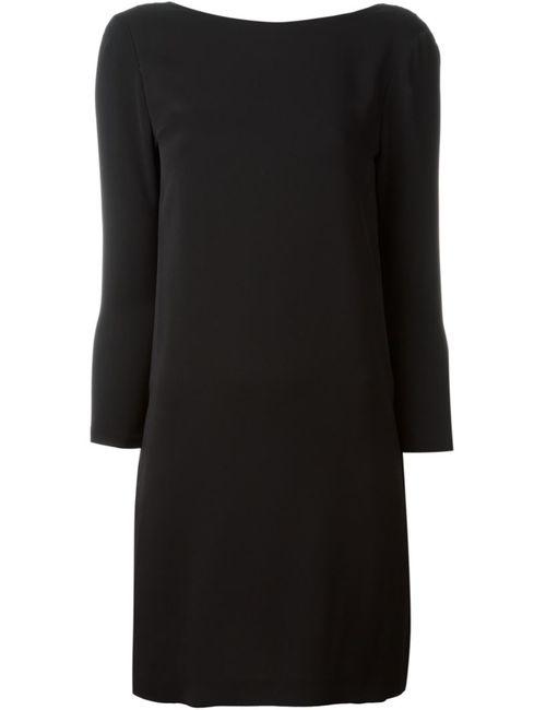 Tom Ford | Женское Черный Платье С Драпировкой На Спине