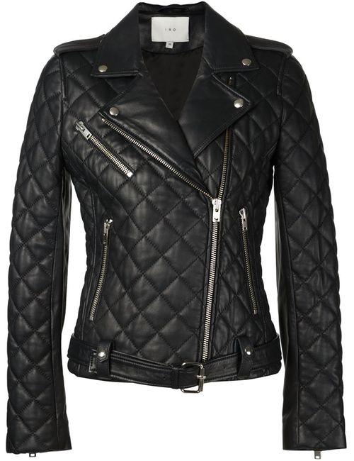 Iro | Женское Чёрный Quilted Biker Jacket