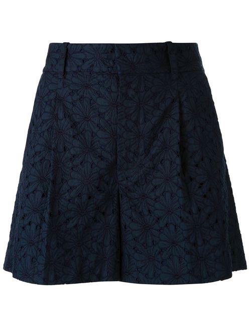 SCANLAN THEODORE | Женское Синий Embroidered Shorts