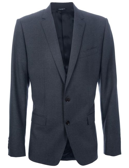 Dolce & Gabbana | Мужское Серый Martini Suit Jacket