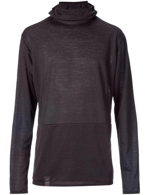 TEATORA | Мужское Чёрный Longsleeved Balaclava T-Shirt