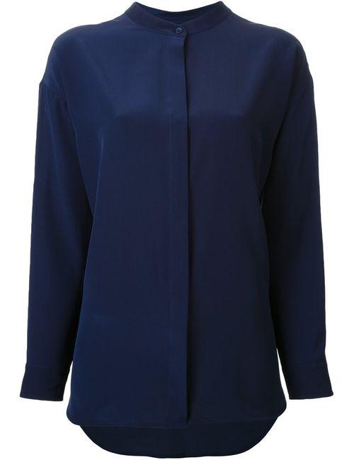 SCANLAN THEODORE | Женская Синяя Рубашка С Воротником-Стойкой
