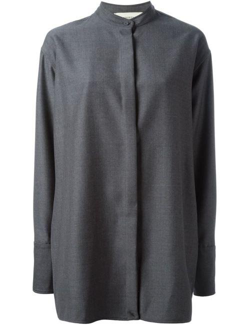 Ports | Женская Серая Рубашка С Запахом