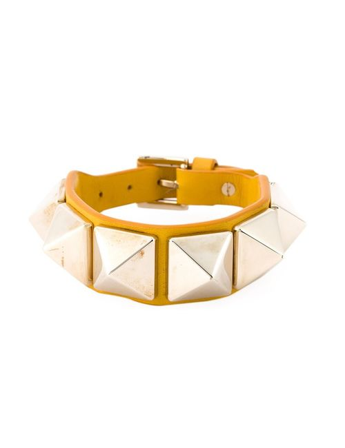 Valentino Garavani   Женское Желтый Rockstud Bracelet