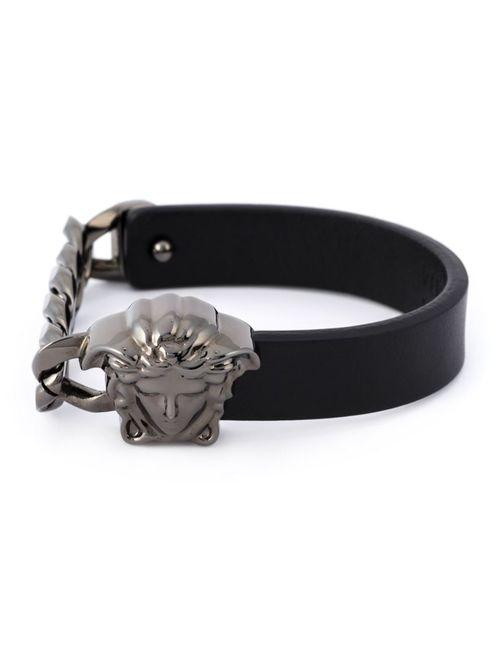 Versace | Мужское Черный Medusa Bracelet