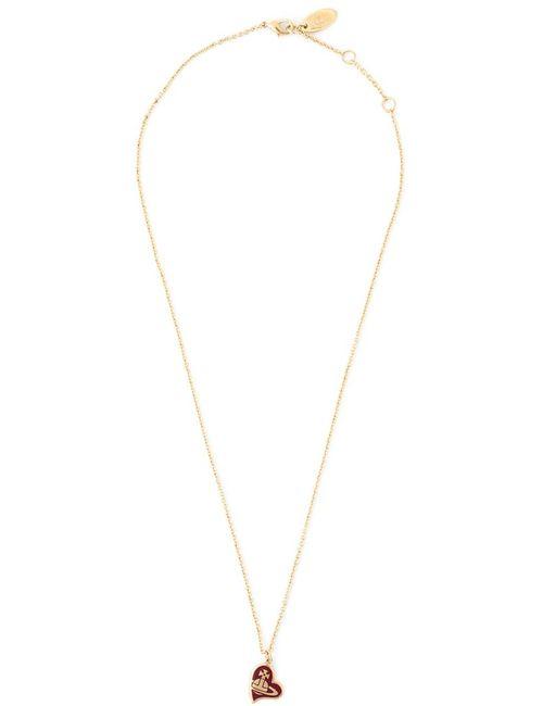 Vivienne Westwood | Женское Серебристый Orb Heart Pendant Necklace