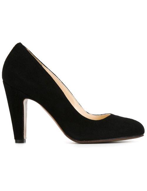 L' Autre Chose | Женские Чёрные Туфли На Закругленным Носком