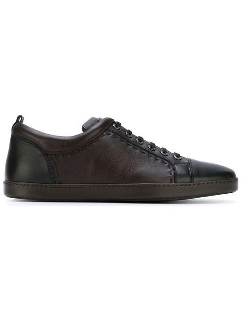 Brioni | Мужское Коричневый Whipstitch Sneakers