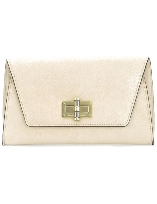 Diane Von Furstenberg | Женское Nude & Neutrals Twist Lock Envelope Clutch