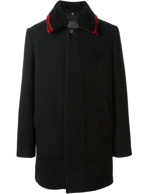 Alexander Wang | Мужское Чёрное Однобортное Пальто